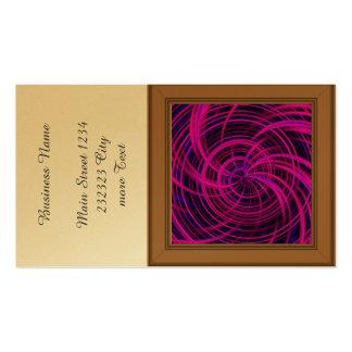 Rosa feliz, negro (c) tarjetas de visita
