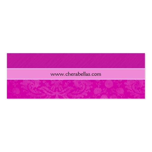 Rosa floral de la flor del damasco del balneario d plantilla de tarjeta personal