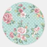 Rosa floral elegante lamentable del trullo del
