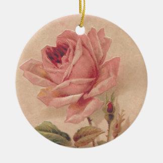 Rosa francés del Victorian subió Adorno De Reyes