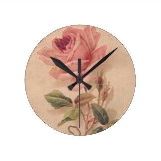 Rosa francés del Victorian subió Reloj