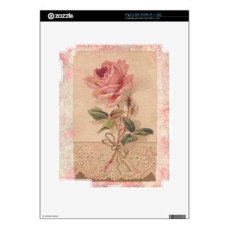 Rosa francés del Victorian subió Skins Para eliPad 2