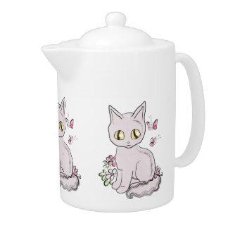 Rosa fresco del gato del gatito