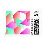 Rosa geométrico 03 sellos
