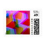 rosa geométrico 06 sello
