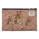 Rosa Giraffes Glitzy Travel Bag Travel Accessory Bags