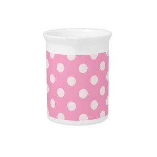 Rosa grande de los lunares - rosa del clavel en pá jarras para bebida