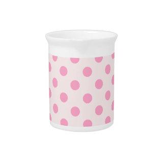 Rosa grande de los lunares - rosa del clavel en pá jarra