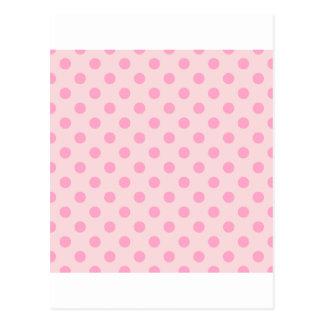 Rosa grande de los lunares - rosa del clavel en tarjetas postales