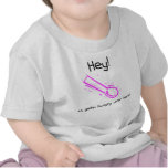 rosa hambriento camiseta