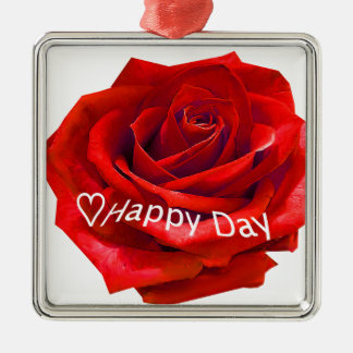 rosa-happyday.png metal ornament