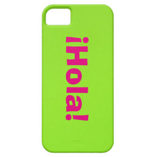 Rosa ¡Hola! on Verde iPhone SE/5/5s Case