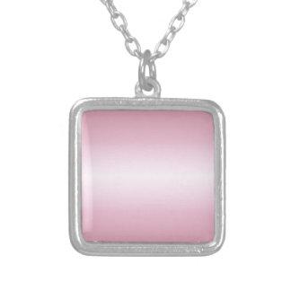 Rosa horizontal 1 - cordón rosado y Puce Pendientes