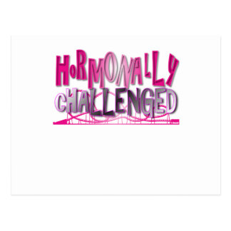 Rosa hormonal desafiado postal
