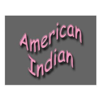 Rosa indio americano postal