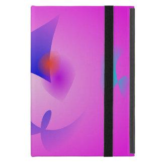Rosa libre de los objetos iPad mini coberturas