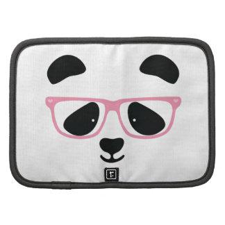 Rosa lindo de la panda organizador