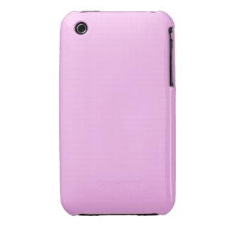 Rosa llano Case-Mate iPhone 3 protectores