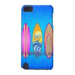 Rosa llevado para practicar surf funda para iPod touch 5G