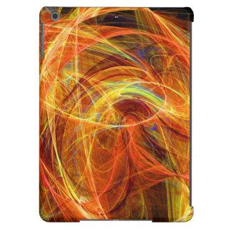 Rosa LOCO del naranja del FOTÓN Funda Para iPad Air