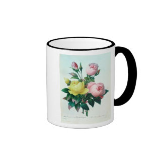 Rosa Lutea and Rosa Indica Coffee Mugs