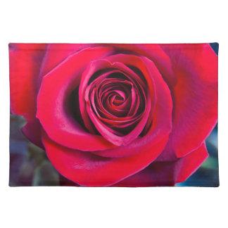 Rosa mágica mantel individual