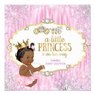 """Rosa mágico de la princesa fiesta de bienvenida al invitación 5.25"""" x 5.25"""""""