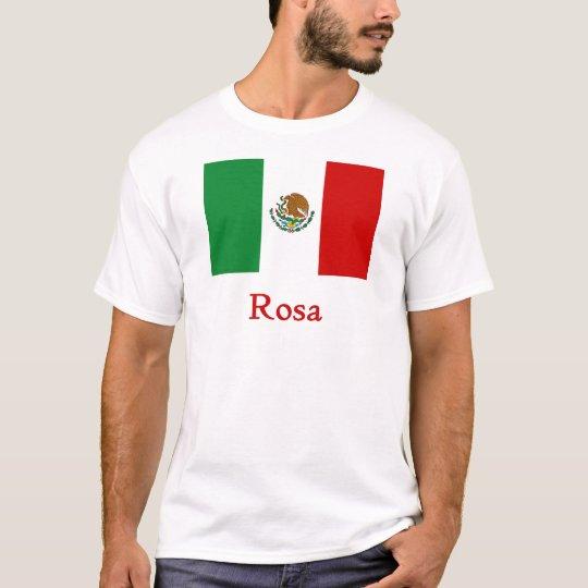Rosa Mexican Flag T-Shirt
