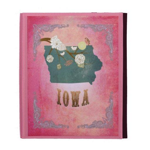 Rosa moderno del caramelo del mapa del estado de I