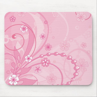 rosa mouse pad