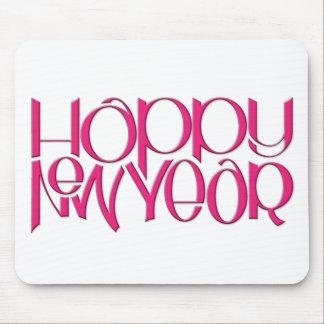Rosa Mousepad de la Feliz Año Nuevo