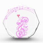 Rosa, notas de la música de Love_