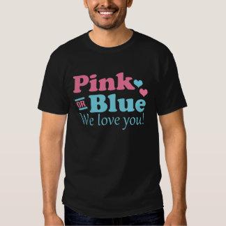 Rosa o azul le amamos playeras
