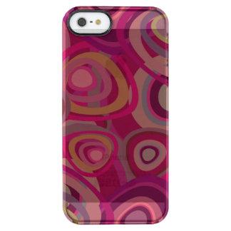 Rosa orgánico funda clearly™ deflector para iPhone 5 de uncommon