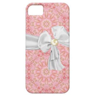 Rosa, oro y caja blanca del iPhone 5 iPhone 5 Carcasas
