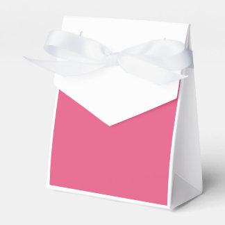 Rosa oscuro caja para regalos de fiestas
