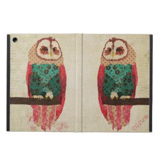 Rosa Owl Case iPad Air Cases