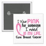 Rosa para alguien necesito al cáncer de pecho pin