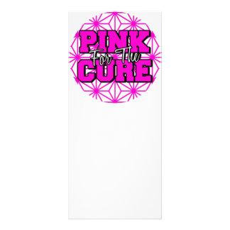 rosa para la curación tarjeta publicitaria personalizada