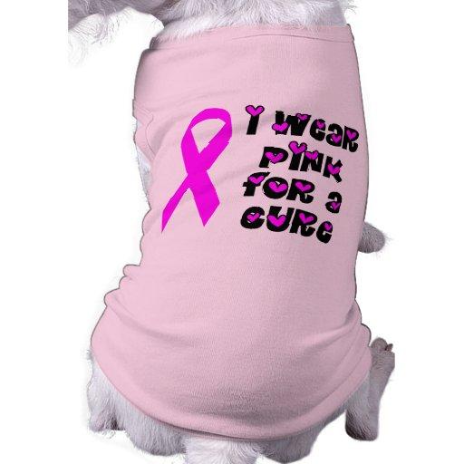 Rosa para una camiseta del perro de la curación camisetas mascota