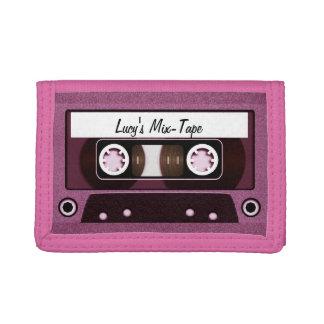 Rosa personalizado cinta de la mezcla