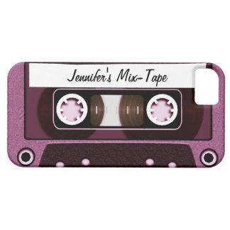Rosa personalizado cinta de la mezcla funda para iPhone SE/5/5s