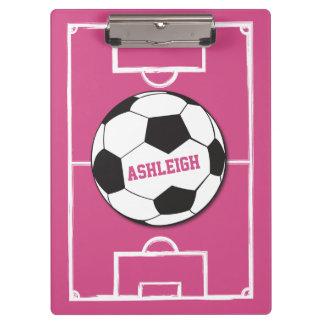 Rosa personalizado de la bola y del campo de