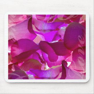 Rosa-Pétalo-Amor Tapetes De Ratón
