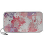 Rosa pink lila Farbwolken Notebook Altavoces