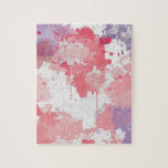 Rosa pink lila Farbwolken Puzzle Con Fotos
