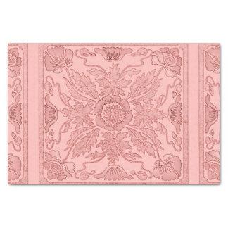 Rosa polvoriento - papel seda de Nouveau del arte Papel De Seda Pequeño