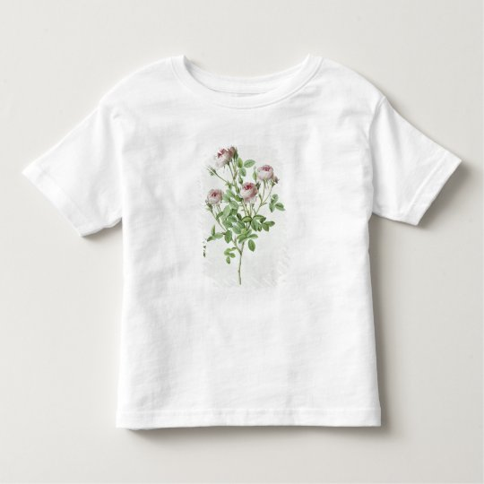 Rosa Pomponia, from 'Les Roses' Toddler T-shirt