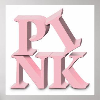 ROSA - poster de la conciencia del cáncer de pecho