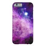 Rosa púrpura de la nebulosa de las estrellas del